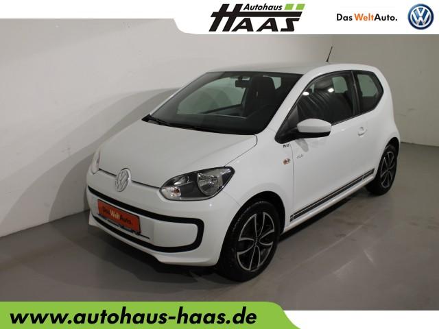 "Volkswagen up! 1.0 ""club up!"" Klima, el. Fensterheber, Jahr 2016, petrol"
