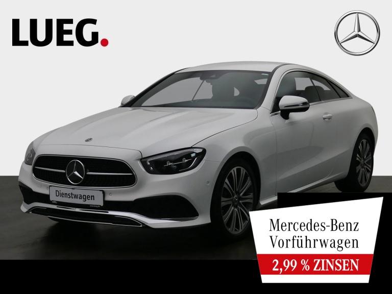 Mercedes-Benz E 200 Coupe AVANTG+19''+EDW+TOTW+BURMESTER+NP64T, Jahr 2020, Benzin