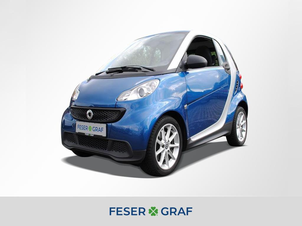 smart fortwo coupe ASG Passion Klimaautom. Navi. Pano., Jahr 2014, Benzin