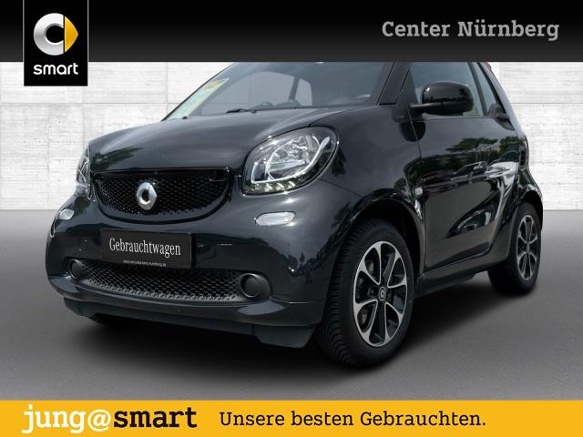 smart fortwo cabrio 66kW prime DCT cool&Audio SHZ Tempom, Jahr 2017, Benzin