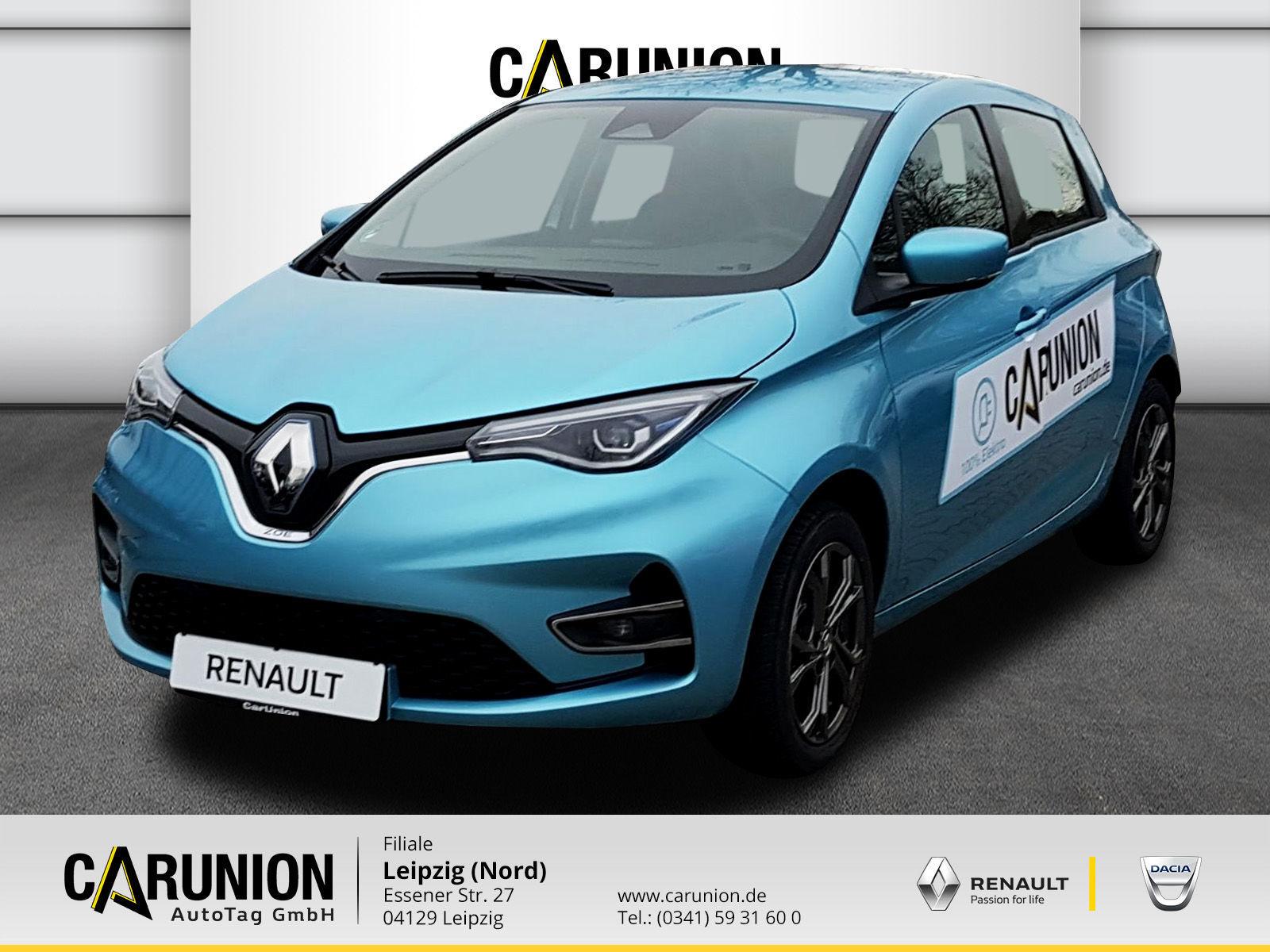 Renault ZOE EXPERIENCE Batteriemiete R135 Z.E. 50 LED,NA, Jahr 2019, Elektro