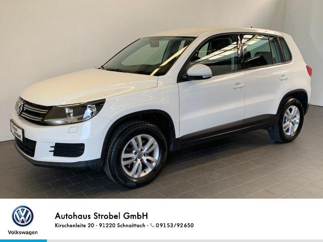 Volkswagen Tiguan 2.0 TDI Trend&Fun AHK elektr.Spiegel+FH Radio CD Isofix Klima Sitzheizung, Jahr 2013, Diesel