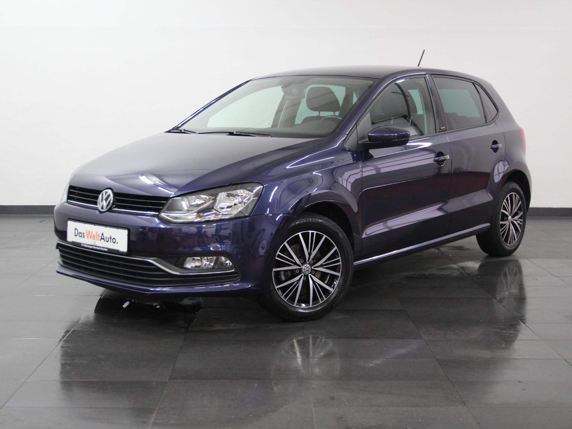 Volkswagen Polo Allstar KLIMA RADIO SHZ PDC ab 2,99%, Jahr 2016, Benzin