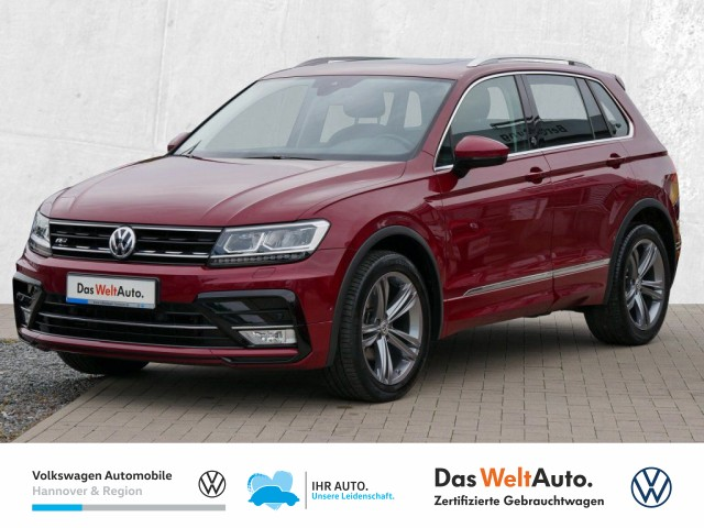 Volkswagen Tiguan 2.0 TDI DPF Sound Navi LED AHK Pano ACC Klima PDC, Jahr 2017, Diesel