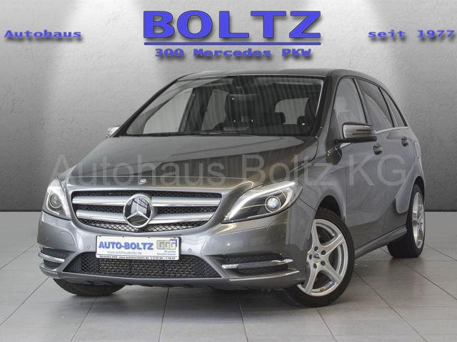 Mercedes-Benz B 250 BE Navi AHK Klima SHZ, Jahr 2014, petrol