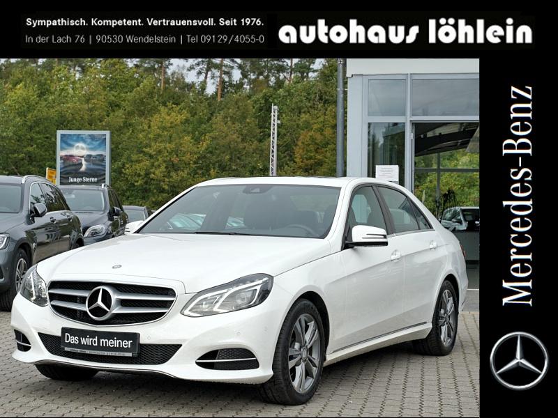 Mercedes-Benz E 220 CDI AVANTGARDE+SHD+LED+NAVI+SHZ+PTC+17ZOLL, Jahr 2014, Diesel