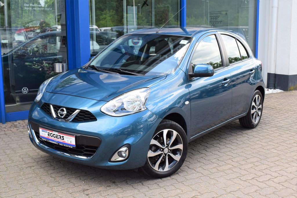 "Nissan Micra 1.2 Acenta *Klima*SitzHzg*GRA*16"", Jahr 2015, petrol"