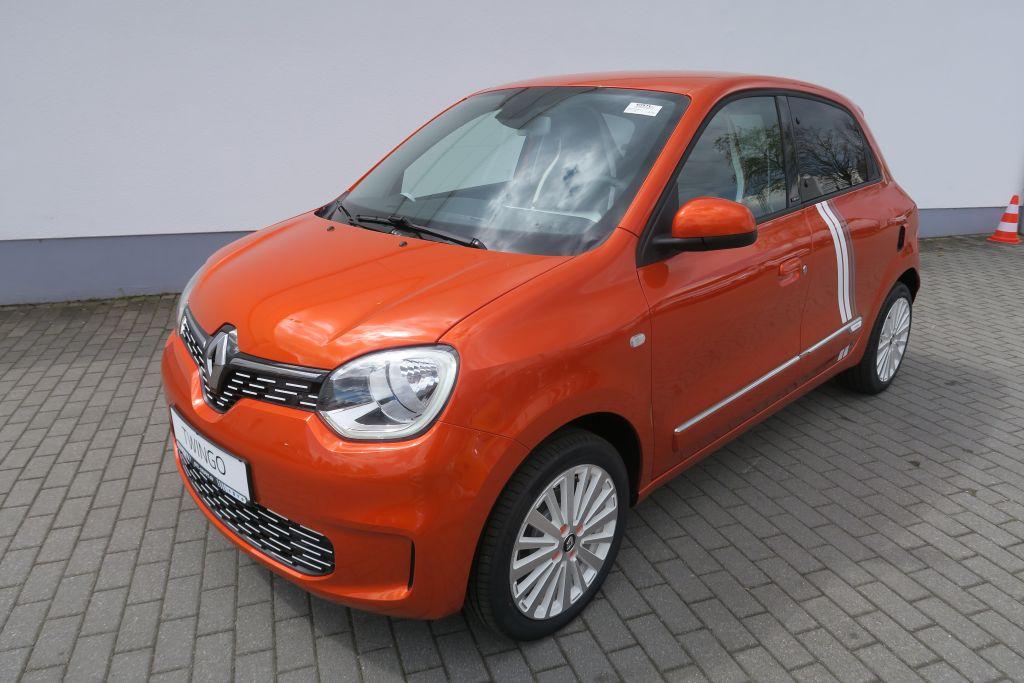 Renault Twingo Electric VIBES + Navi+Ablagen+Schuko, Jahr 2021, Elektro