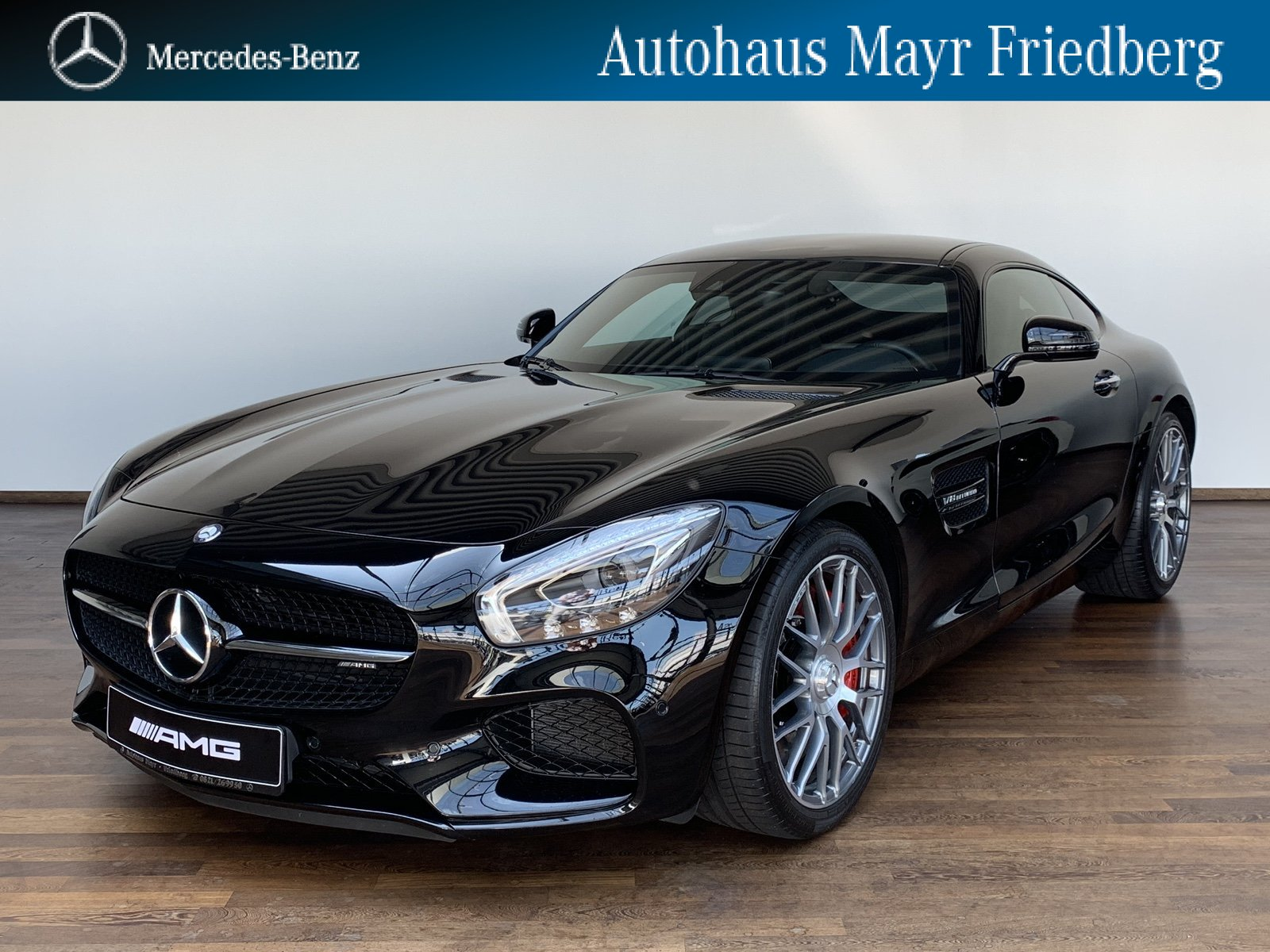 Mercedes-Benz Mercedes-AMG GT S NIGHT+PANO+PERFORMANCE+COMAND, Jahr 2016, petrol