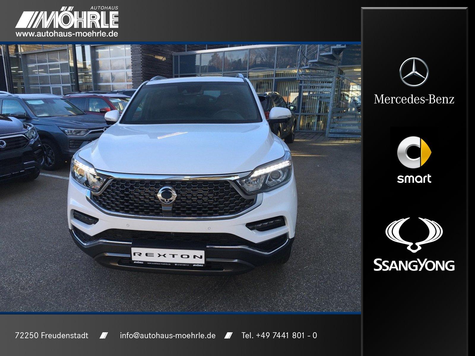 Ssangyong REXTON Sapphire 2.2 D 4WD MJ 2020 Elegance SHD, Jahr 2019, Diesel