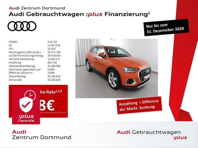 Audi Q3 advanced 35TDI qu. Navi+/LED/Pano/DAB/19Zoll, Jahr 2019, Diesel