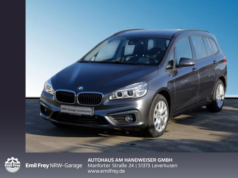 BMW 220d Gran Tourer xDrive Aut. Advantage, Jahr 2016, diesel