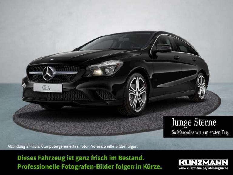 Mercedes-Benz CLA 200 SB Urban Navi-Vorr. Sitzkomfort Chrom, Jahr 2015, Benzin