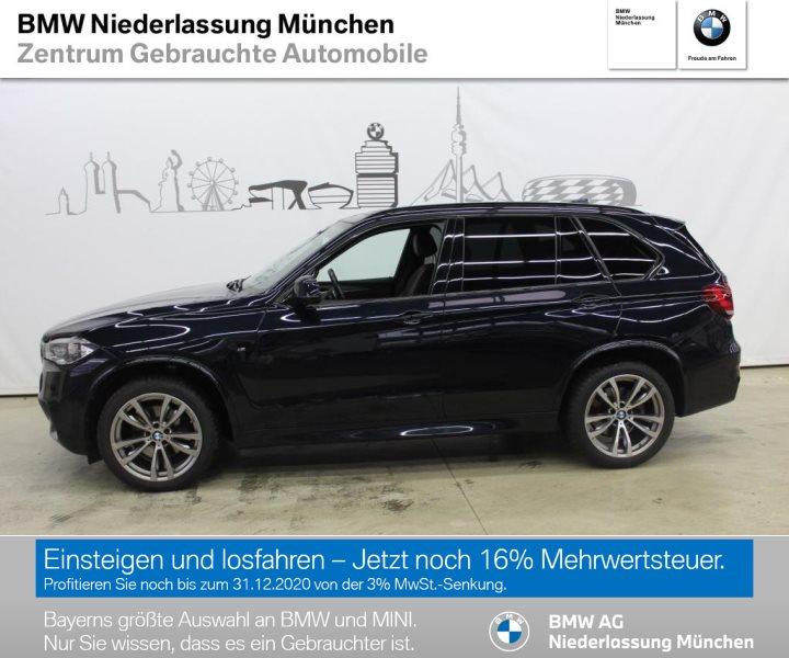 BMW X5 xDrive40d Sportpaket Head-Up HiFi LED RFK EURO 6, Jahr 2017, Diesel