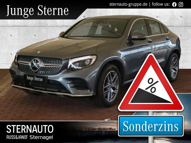 Mercedes-Benz GLC 300 4M Coupé AMG Line Sonderzins, Jahr 2017, Benzin