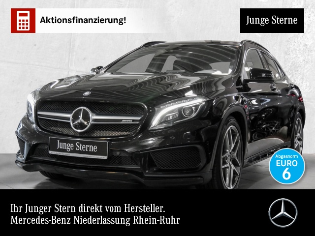 Mercedes-Benz GLA 45 AMG 4M Pano Distr COMAND ILS NIGHT Comand, Jahr 2017, Benzin