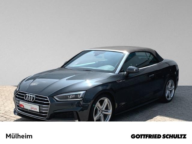 Audi A5 Cabrio 2.0 TFSI NAVI MUFU S-LINE EPH SIH, Jahr 2018, Benzin