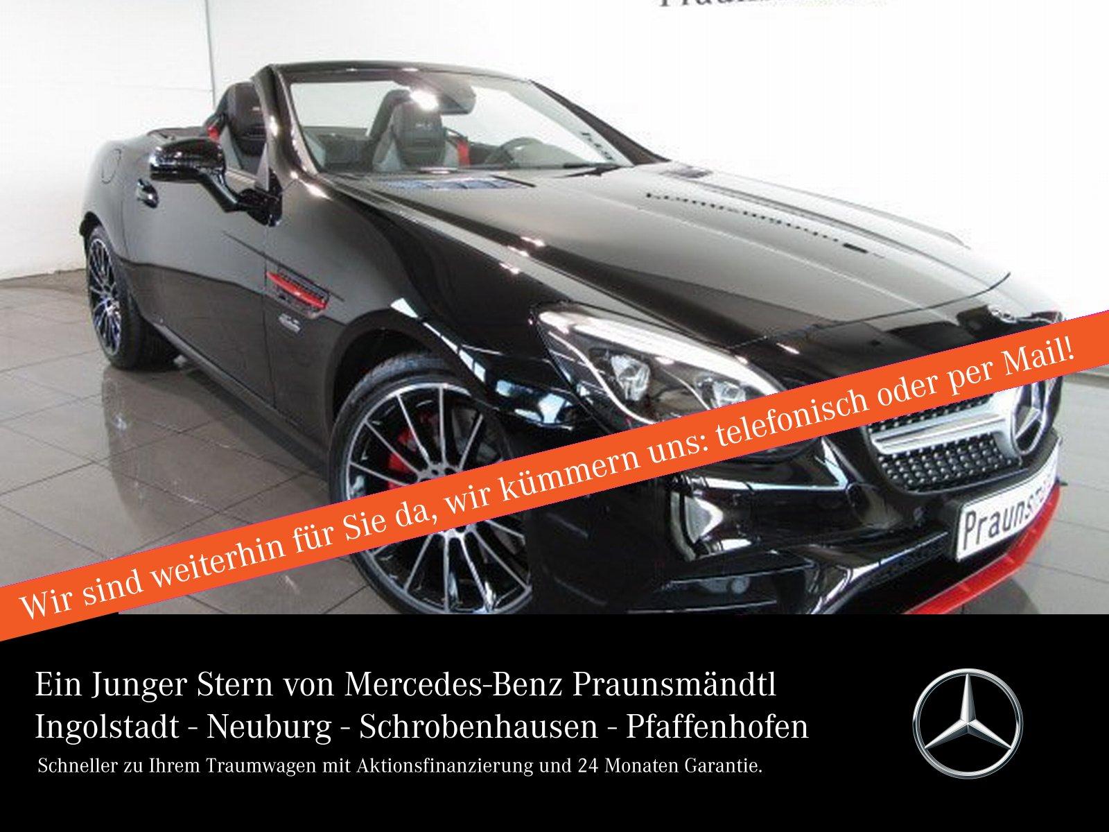 Mercedes-Benz SLC 300 AMG RedArt Edition Kamera/LED/NAVI/Eur6d, Jahr 2018, Benzin