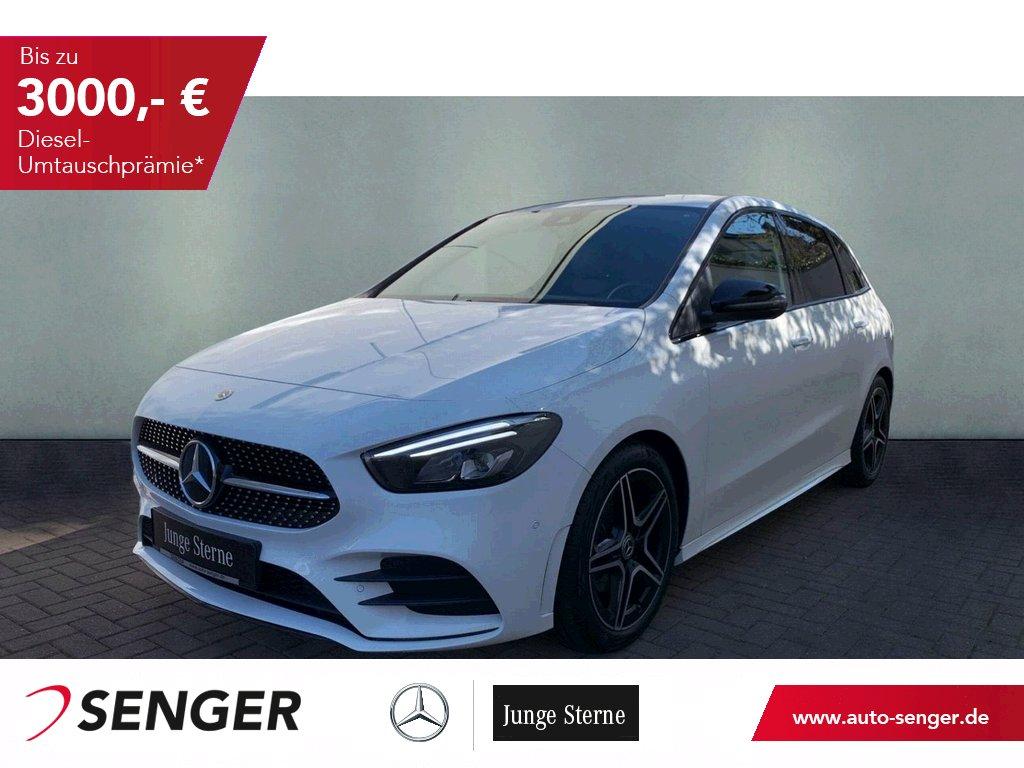 Mercedes-Benz B 200 AMG Navi LED High MBUX Night Paket, Jahr 2020, Benzin