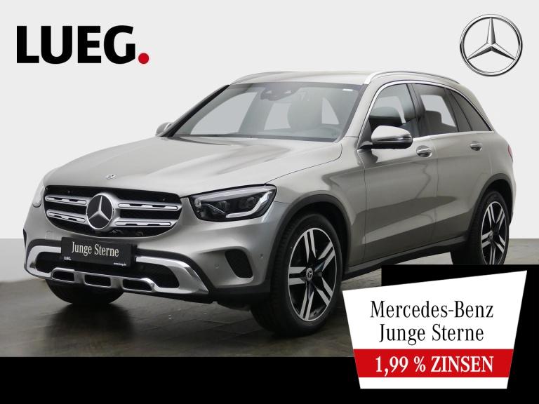 Mercedes-Benz GLC 300 4M MBUX+Navi+Mbeam+Sthzg+AHK+20''+Mem+36, Jahr 2019, Benzin