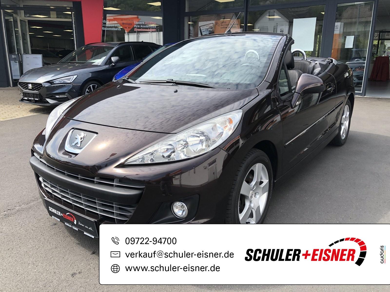 Peugeot 207 CC Active SHZ*KLIMA*ISOFIX*MP3, Jahr 2013, Benzin