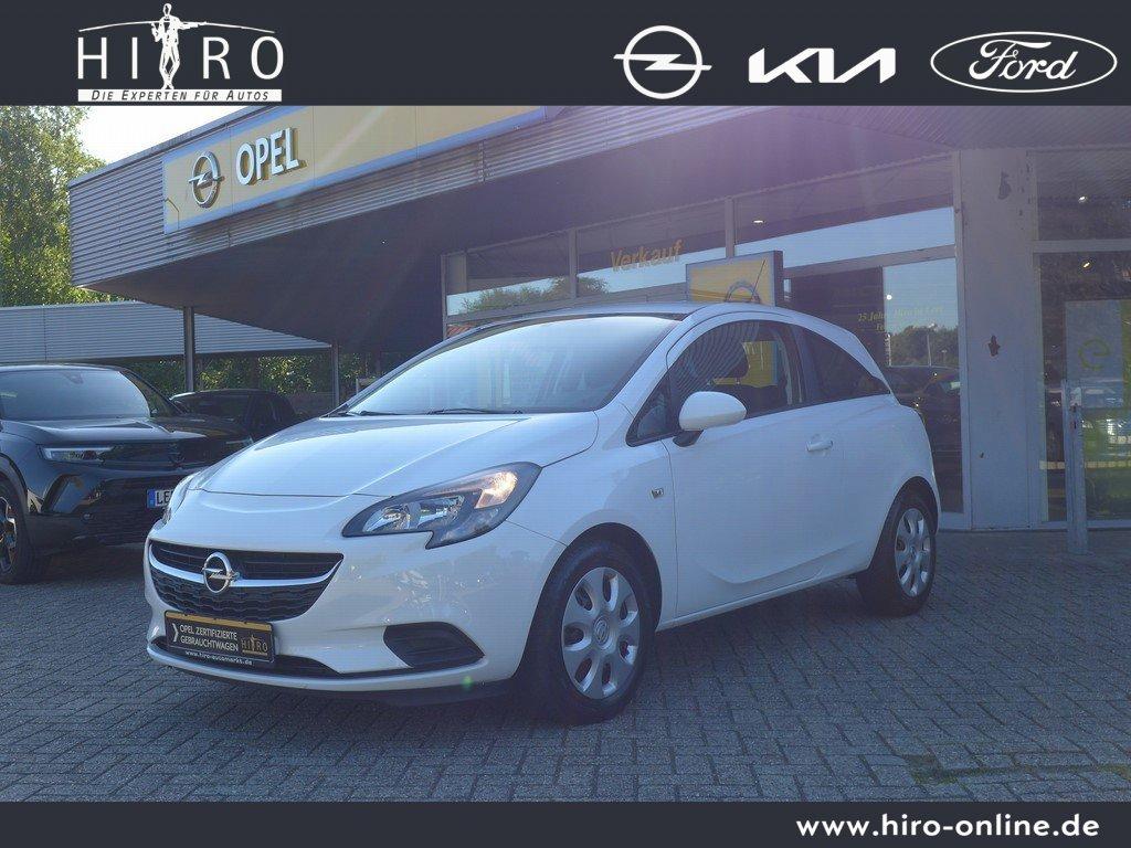 Opel Corsa Edition Klimaautomatik/Sitzhzg./MF-Lenkrad/BC, Jahr 2015, Benzin