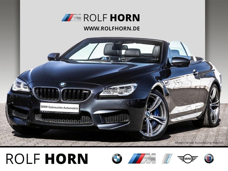 BMW M6 Cabrio M DKG HUD LED RKam 20'' M SurroundView, Jahr 2016, Benzin