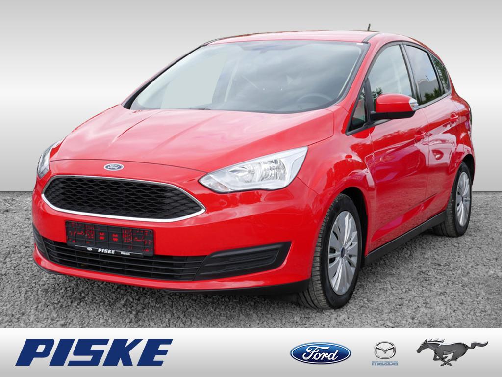 Ford C-Max Trend get.Scheiben,Anhängevor.,racerot, Jahr 2017, Benzin