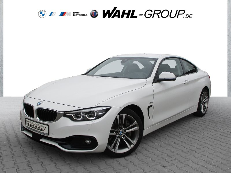 BMW 440i Coupé Sport Line Head-Up HiFi DAB LED RFK, Jahr 2017, Benzin