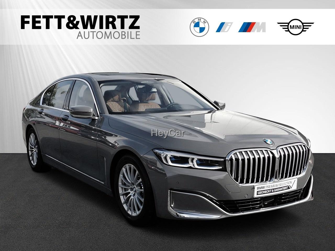 BMW 745e Sitzlüft. Massage DA + Laser TV+ GSD HUD, Jahr 2020, Hybrid