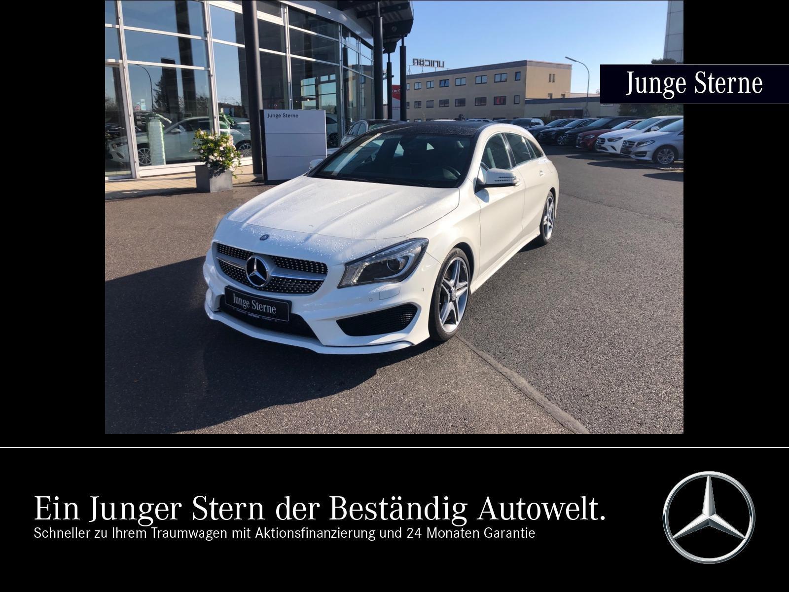 Mercedes-Benz CLA 250 Shooting Brake AMG Line 4M +PANO+XENON, Jahr 2015, Benzin