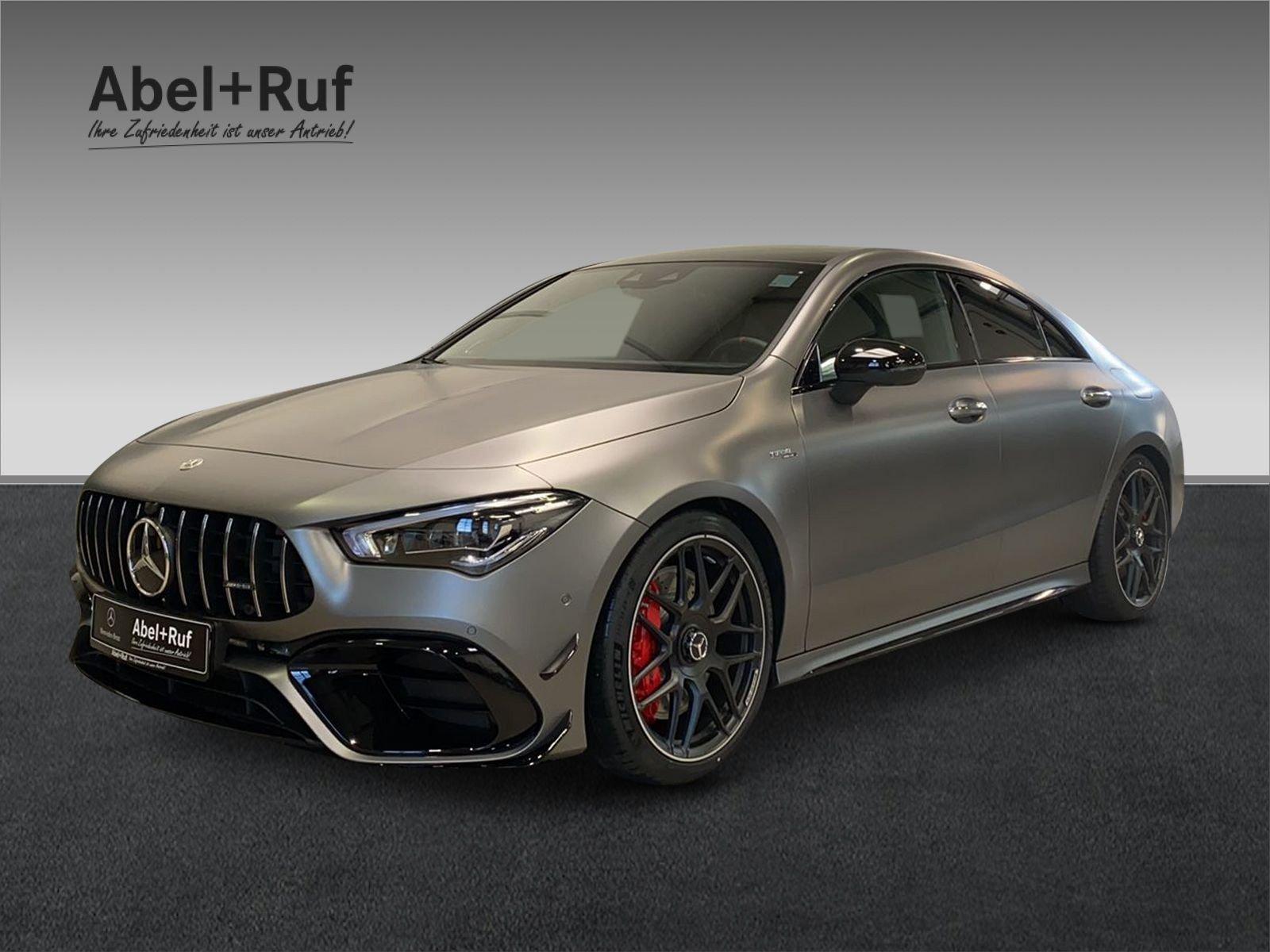 Mercedes-Benz CLA 45 S 4M C.+AERODYN.PLUS+PERFOR.-SITZE+SOUND, Jahr 2021, Benzin