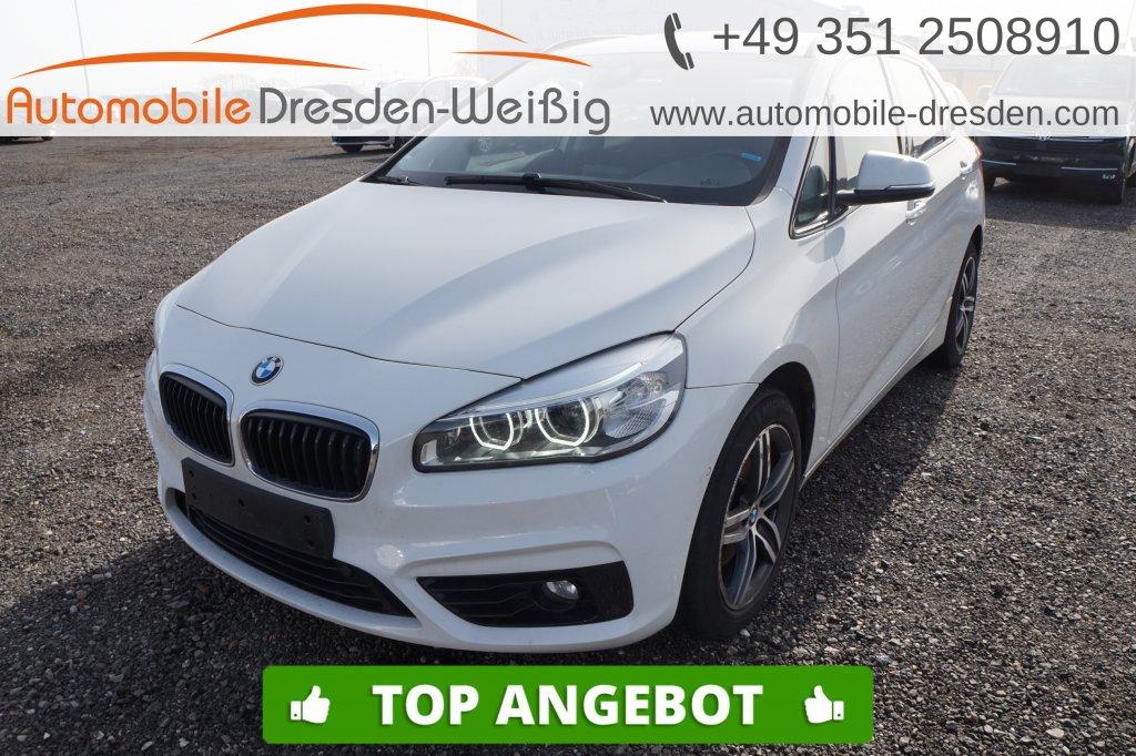BMW 218 Active Tourer d Sport Line*Navi*LED*PDC*, Jahr 2017, Diesel