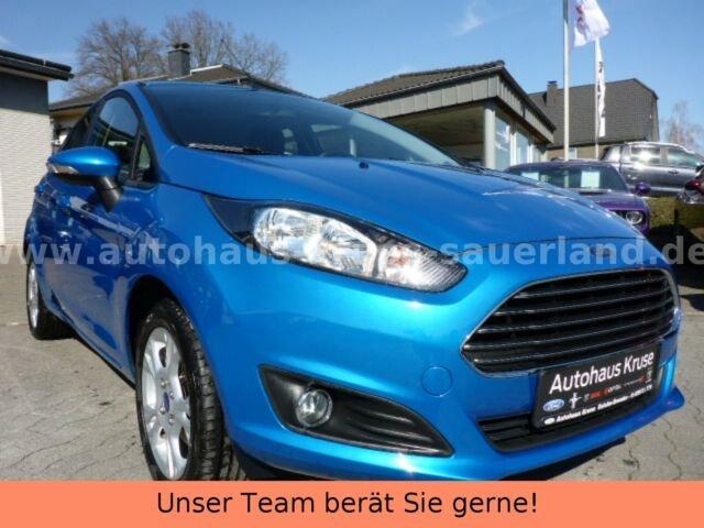 Ford Fiesta 1,25 Trend heizb.Frontscheibe+LMF, Jahr 2013, Benzin