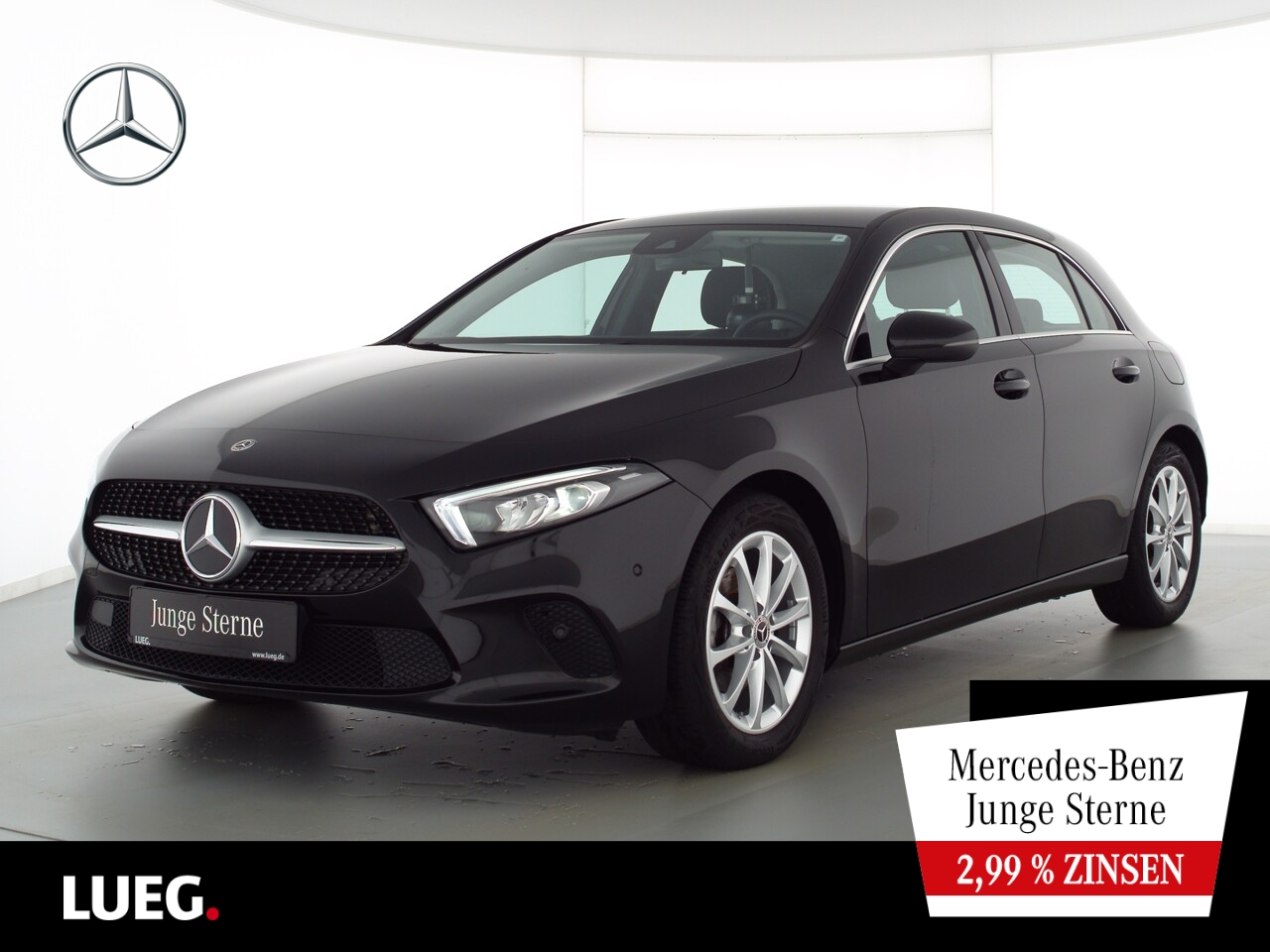 Mercedes-Benz A 180 Progressive+MBUX+NavPrem+LED-HP+ParkAssist, Jahr 2020, Benzin