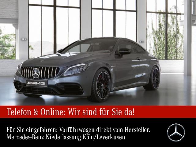 Mercedes-Benz C 63 S Coupé Sportpaket Navi LED Klima, Jahr 2021, Benzin