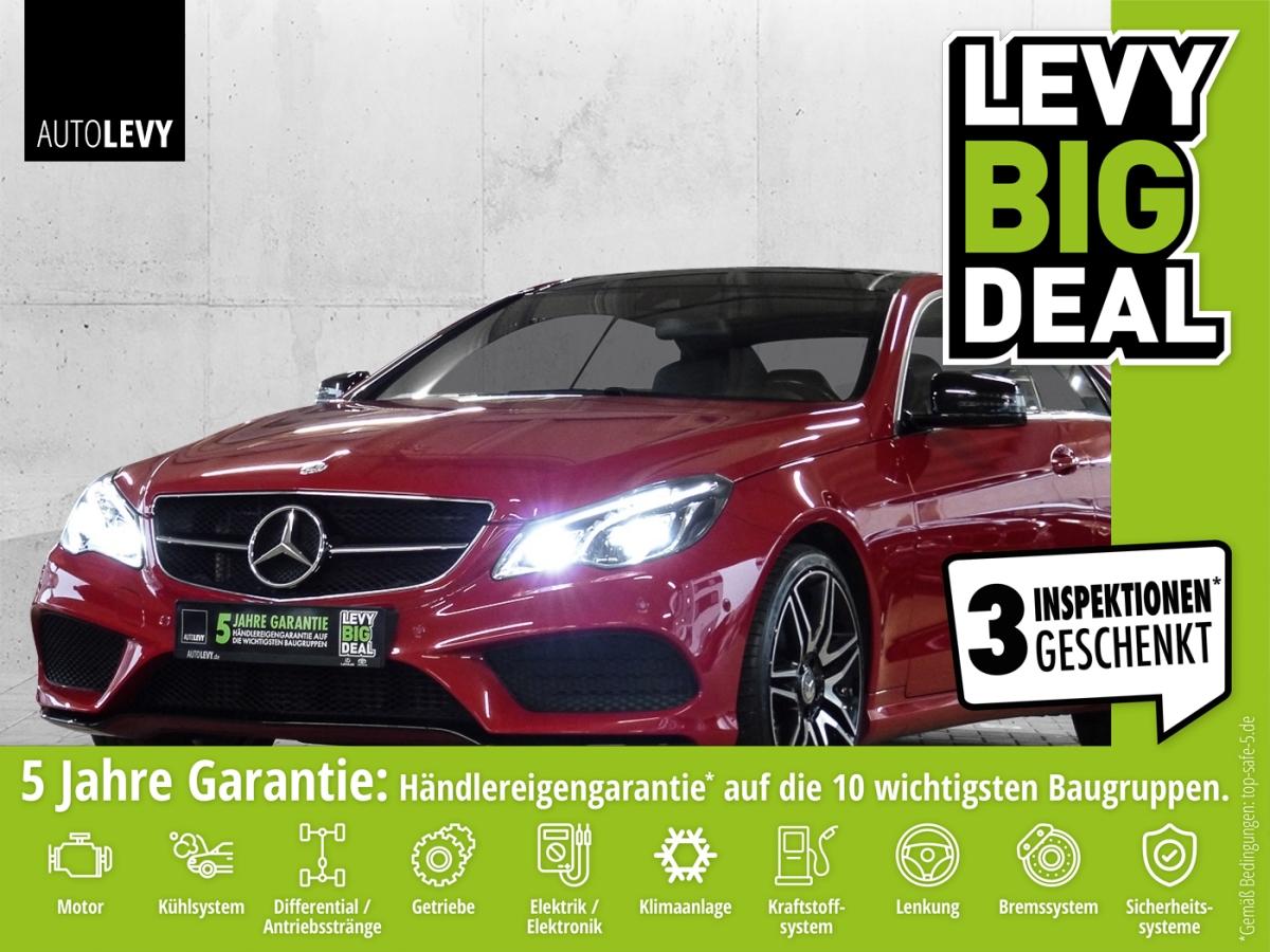Mercedes-Benz E 250 Coupe 7G-Tronic AMG-Pak.*LEDER*PANO*HARMAN, Jahr 2016, Benzin