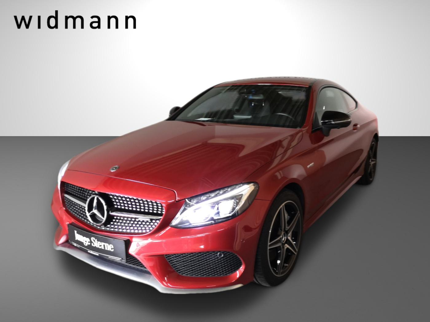 Mercedes-Benz C 43 AMG 4M Coupé *ILS*Sitzhzg*360°Kamera*Navi*, Jahr 2017, Benzin