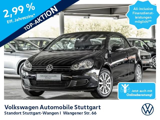 Volkswagen Golf VI Cabriolet 1.2 TSI Navi PDC SHZ, Jahr 2013, Benzin