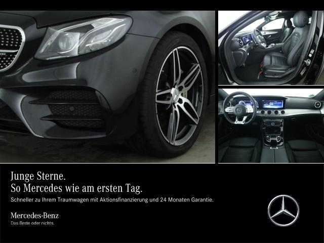 Mercedes-Benz E 53 AMG T 4M Night/COM/Wide/Pano/Multib./Distr., Jahr 2019, petrol