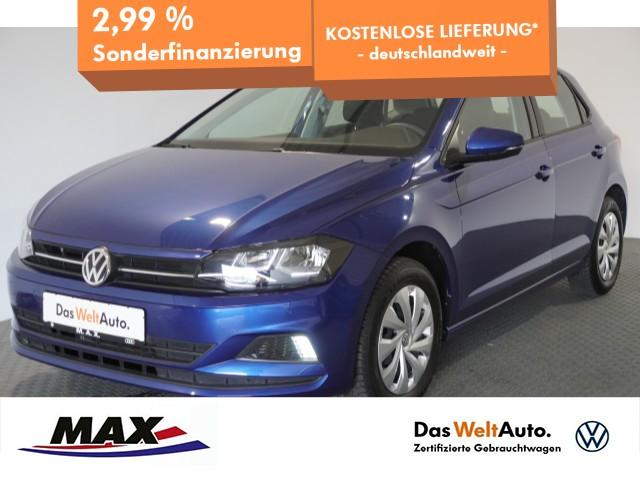 Volkswagen Polo 1.0 COMFORTLINE >NAVI<+PDC+KLIMA+FRONT ASS+, Jahr 2017, Benzin
