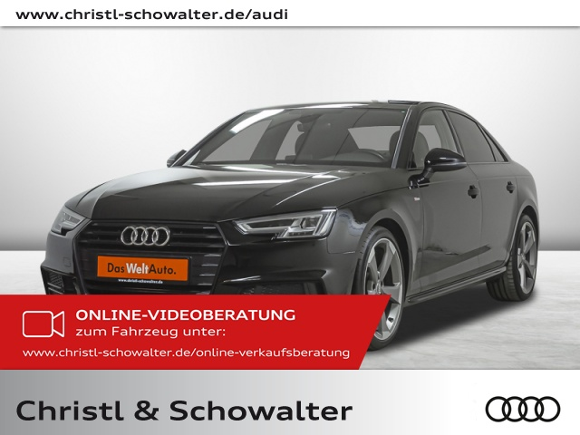 Audi A4 S line black sport 1.4 TFSI LED Navi B+O Klima, Jahr 2018, Benzin