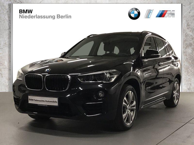 BMW X1 xDrive18d EU6 Aut SportLine LED Navi Glasdach, Jahr 2017, Diesel
