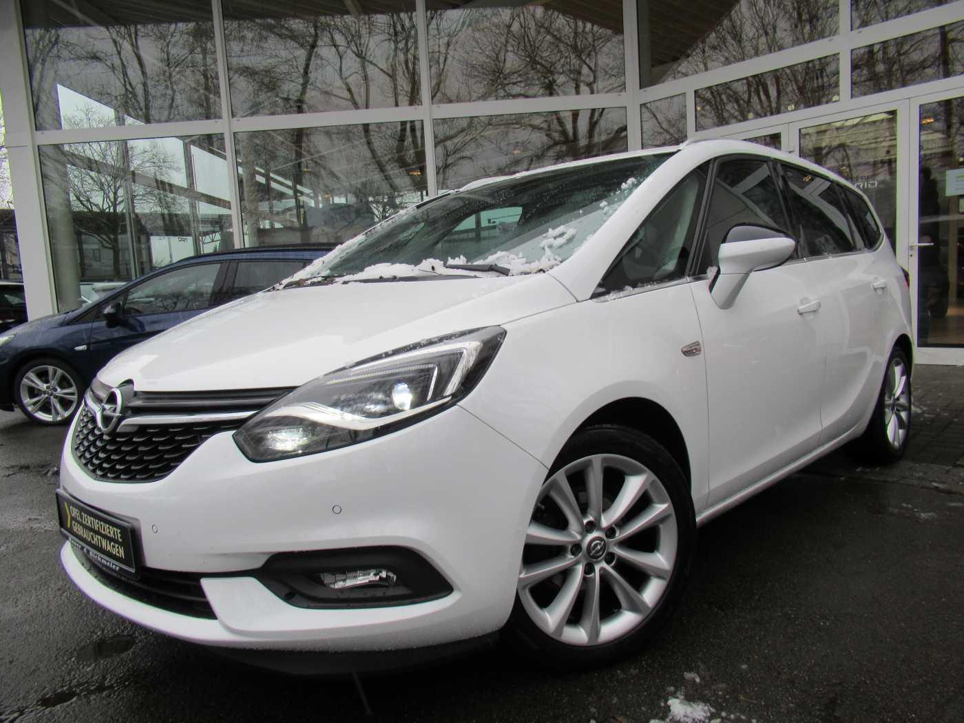 Opel Zafira 1.6 CDTI Business Innovation NAVI+RÜCKFAHRKAMERA+PARKPILOT, Jahr 2017, Diesel