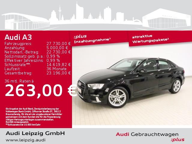 Audi A3 Limousine 35TDI sport*S tronic*Sportfahrwerk*, Jahr 2020, Diesel