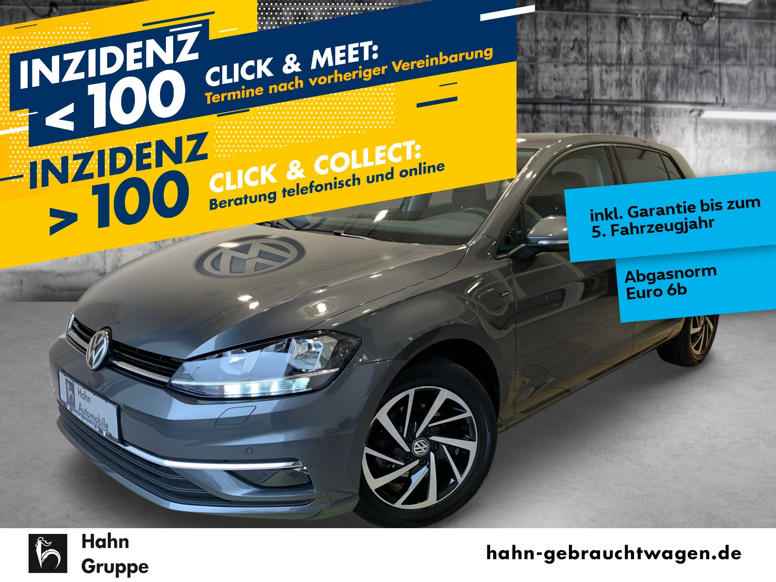 Volkswagen Golf VII JOIN 1,0TSI Navi Einpark Sitzheiz MFL, Jahr 2017, Benzin