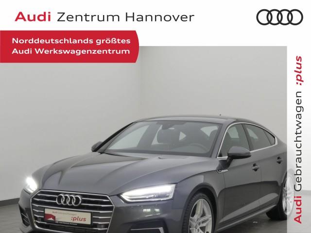 Audi A5 Sportback Sport S-line 40 TFSI Navi AHK DAB Kamera, Jahr 2019, Benzin