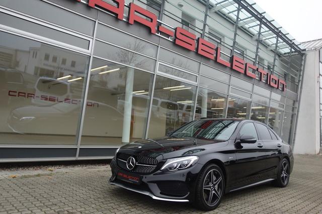 Mercedes-Benz C 450 AMG 4M DESIGNO HEADUP/PANO/ACC/360°/BURM, Jahr 2016, Benzin