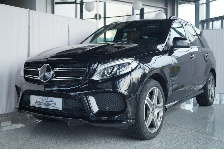 Mercedes-Benz GLE 500 4M AMG-LUXURY-MASSAGE-AIRMATIC-PANO, Jahr 2017, Benzin
