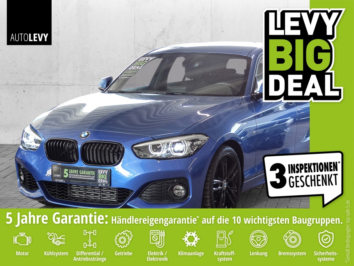 BMW 118i Edition M Sport Shadow *LED*NAVI*SHZ*PDCŽs*, Jahr 2019, Benzin